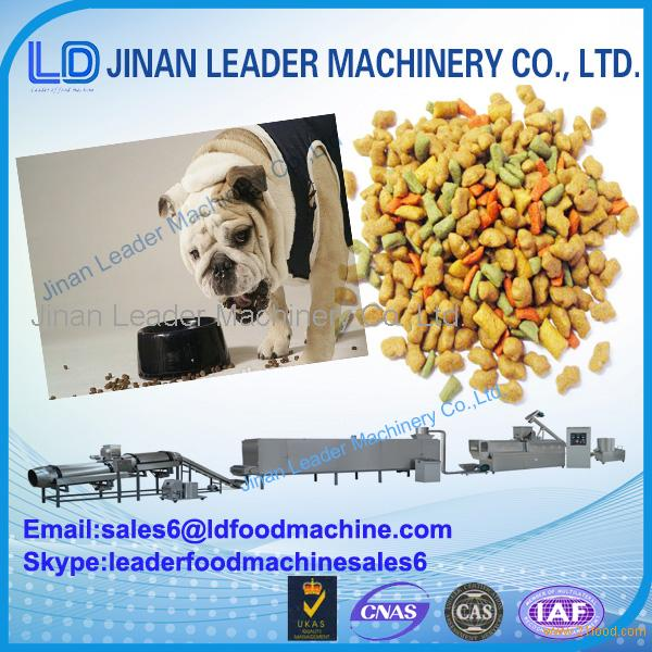 Industrial pet food processing equipment dog feed extruder price