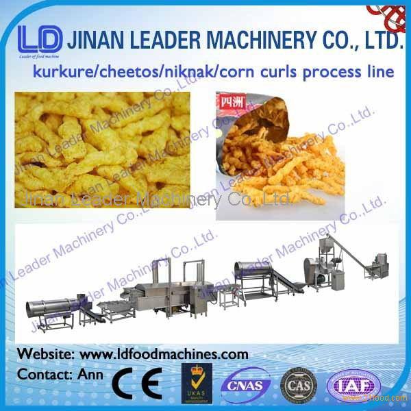 Industrial kurkure extruder making machine manufacturer price