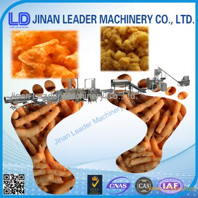 Industrial corn curls cheetos kurkure food processor machinery