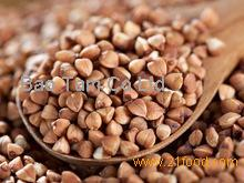 California Almonds and husk or shell Chinese buckwheat Sweet buckwheat