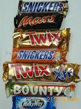 Bounty, Twix, Kitkat Maltesers 25x37gr, Kinder Chocolate, Snickers, Mars