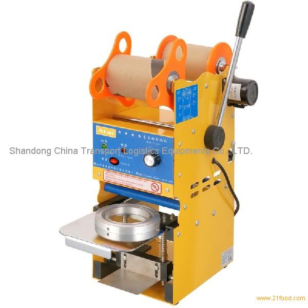 Commercial Manual Electric Heating Sealing Machine Cup