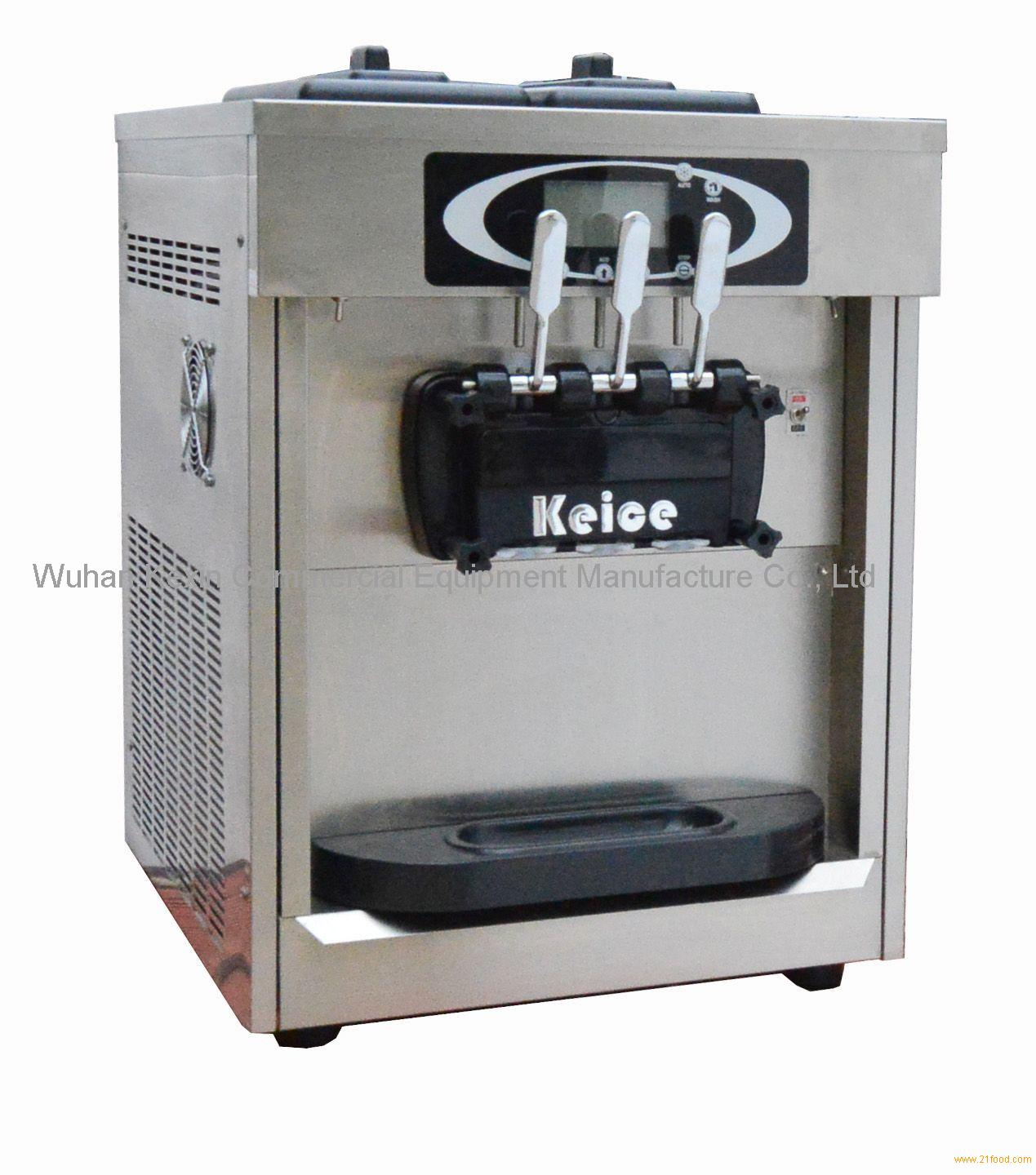 Countertop Yogurt Machine : Twin Twist Counter Top Frozen Yogurt Machine KB30-2DTA products,China ...