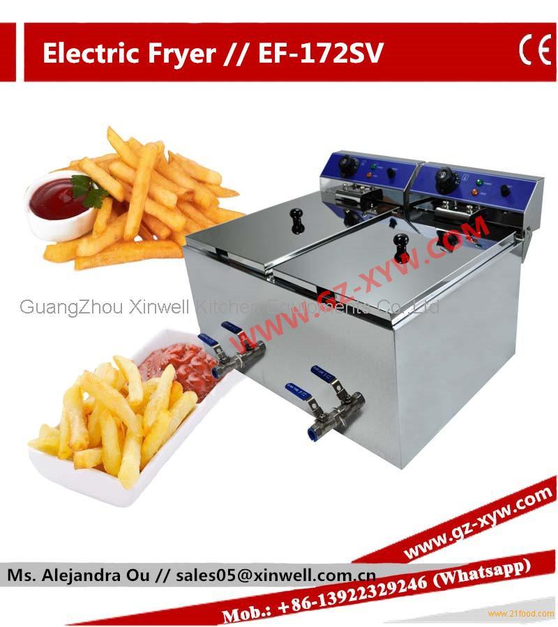 Portable Propane Deep Fryer for Hotel Equipment