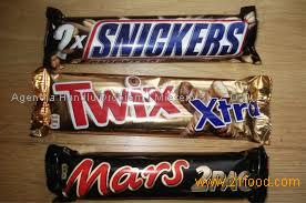 Snickers, Kitkat, Bounty, Twix, Nutella Chocolate,Mars