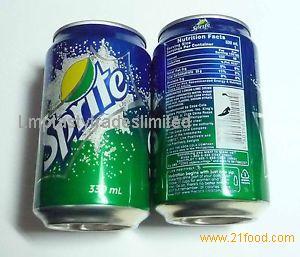 Sprite , Coca Cola , Fanta, Pepsi 355ml