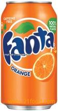 Fanta Orange Soft Drinks 330ml can / Wholesale Soft Drinks