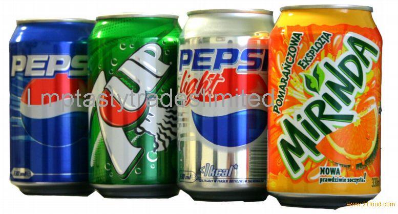 Pepsi, 7up, Mirinda, Pepsi Diet