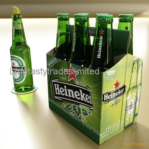 Heineken Beer Cans 25cl & 33cl