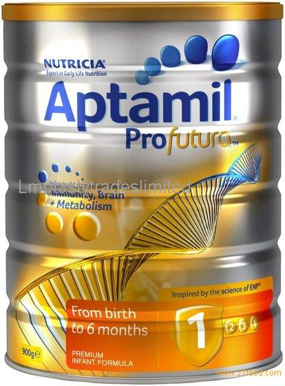 100% Ireland Origined Aptamil milk All Series Skimmed Milk Powder for Baby