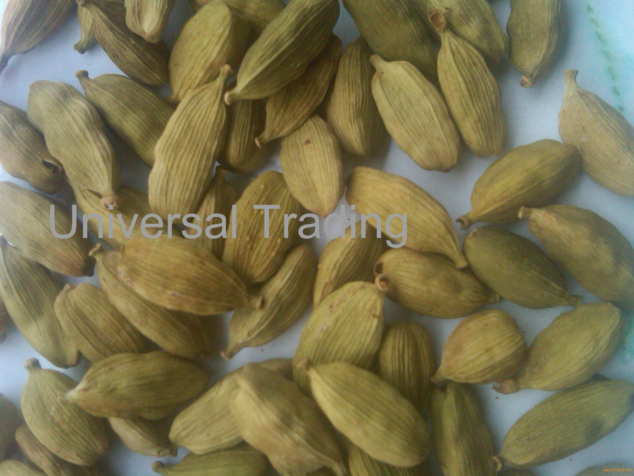 Green Raw CARDAMOM SEED for sells