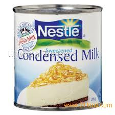 Nestle LIQUID CONDENSED MILK.