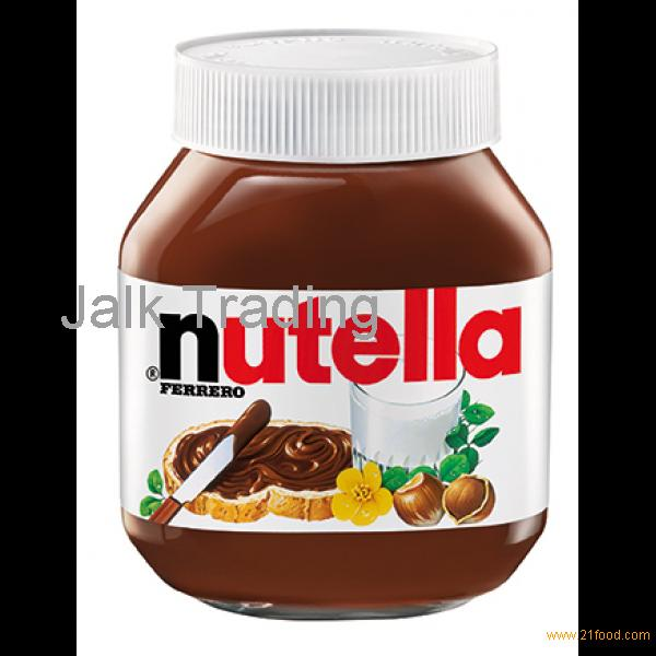 FERRERO NUTELLA CHOCOLATE CREAM, 350G,400G, 750G AND 800G TINS
