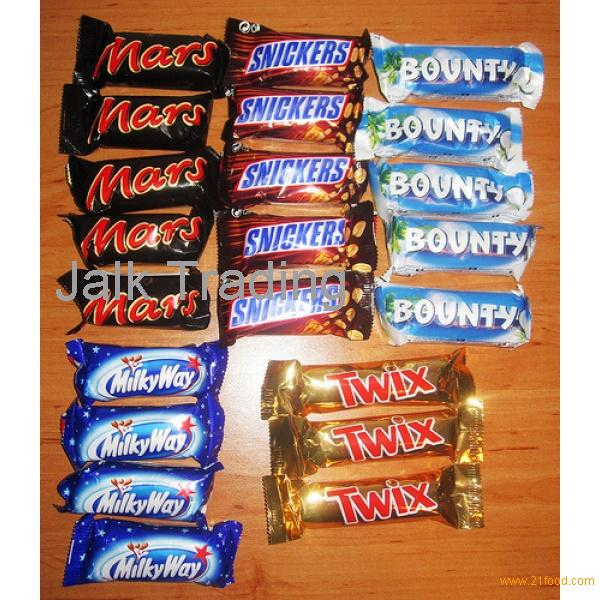 MARS -BOUNTY - SNICKERS - TOBLERONE-LION-KIT KAT