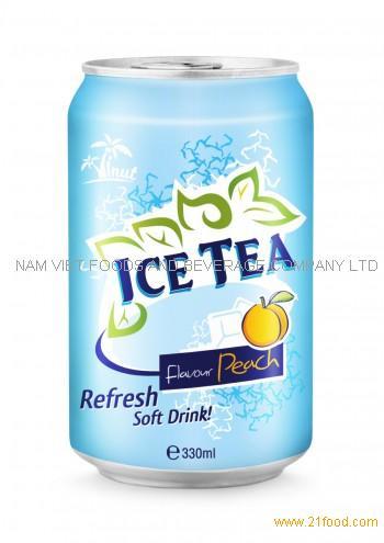 330ml Ice Tea Flavour Peach Refresh Soft Drink