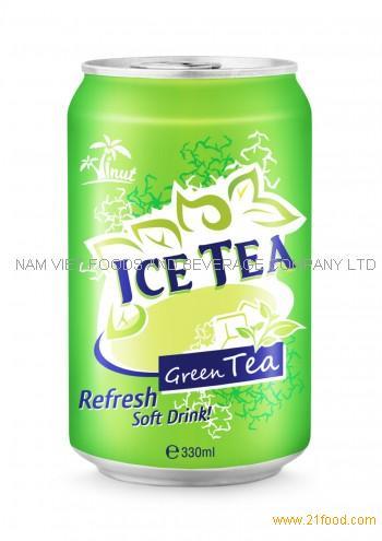 330ml Ice Tea Green Tea Refresh