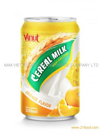 330ml Cerear Milk Orange Flavor