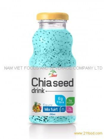 250ml Chia Seed Drink Mix Fruit Flavor