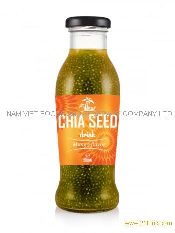 280ml Chia Seed Drink Mango Flavor