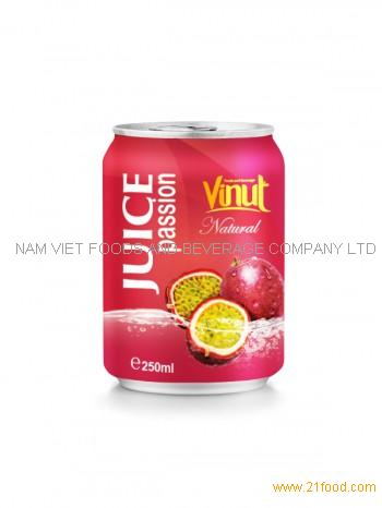 250ml Natural Passion Juice