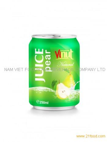 250ml Natural Pear juice
