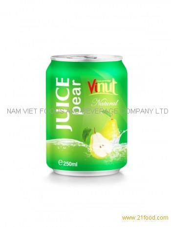 250ml Natural Pear juice