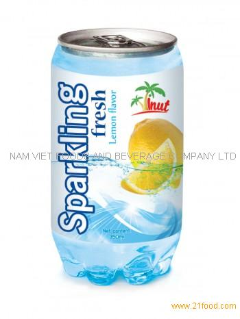 350ml Sparkling Fresh Lemon Flavour