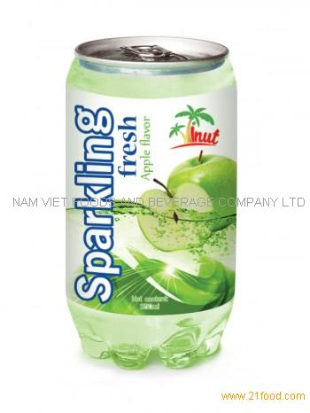 350ml Sparkling Fresh Apple Flavour