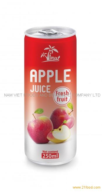 250ml Apple Juice Fresh Fruit