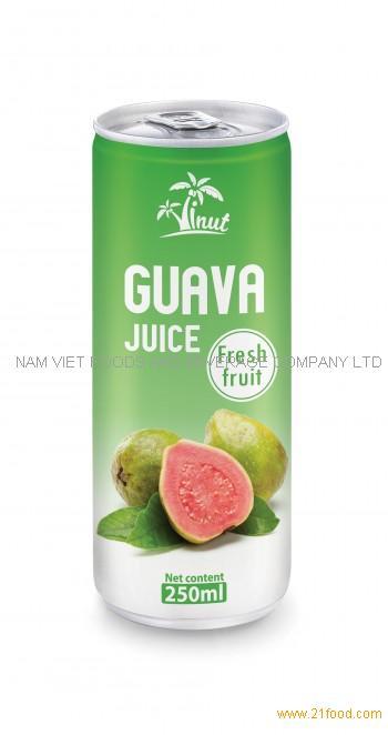 250ml Guava Juice Fresh Fruit