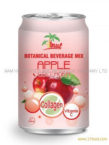 330ml Botanical Beverage Mix Apple Collagen