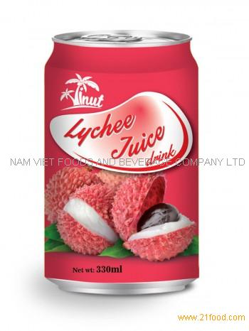 330ml Lychee Juice Drink