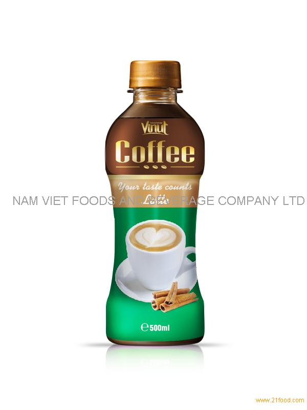 500ml Latte coffee