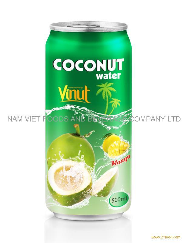 500ml Mango flavored coconut water