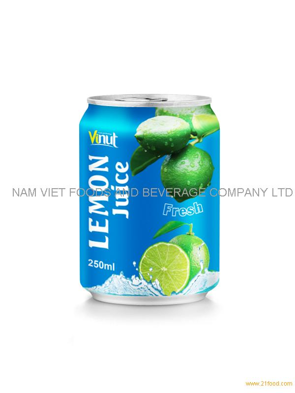 250ml lemon juice drink