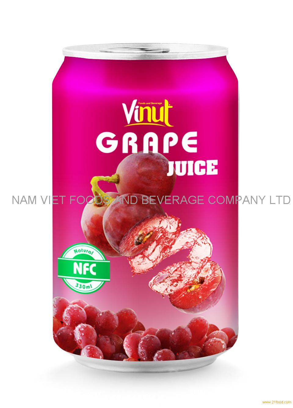 330ml GRAPE juice drink