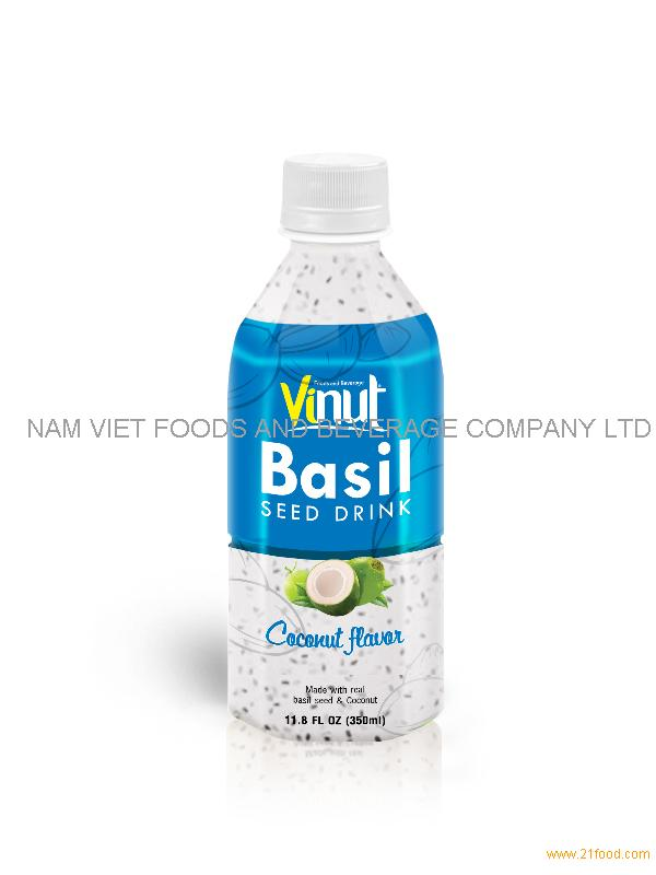 350ml basil seed with coconut flavour