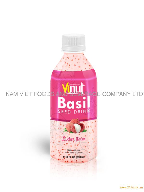 350ml basil seed with Lychee flavour
