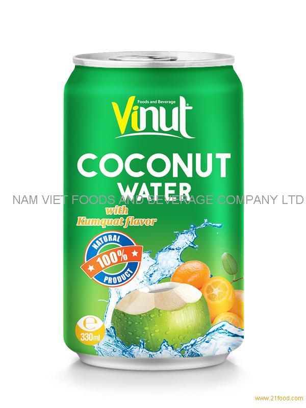 330ml Coconut water Kumquat
