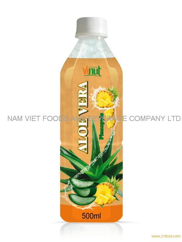500ml aloe vera juice with pineapple flavour