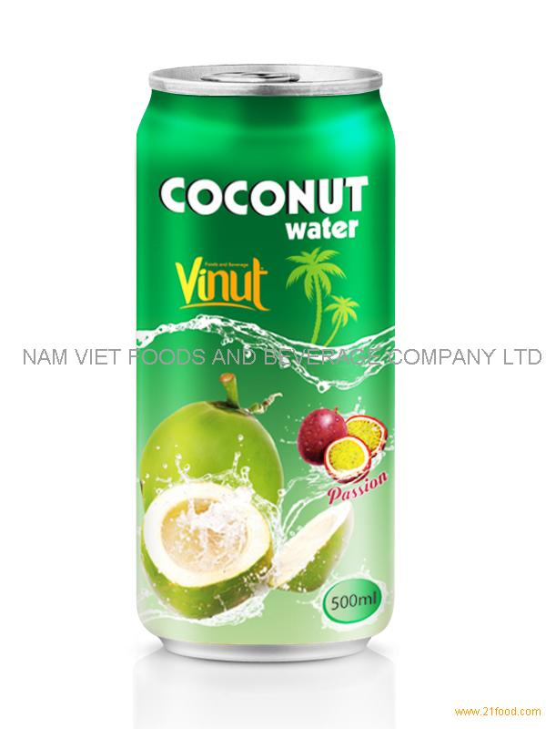500ml Coconut water Passion flavour