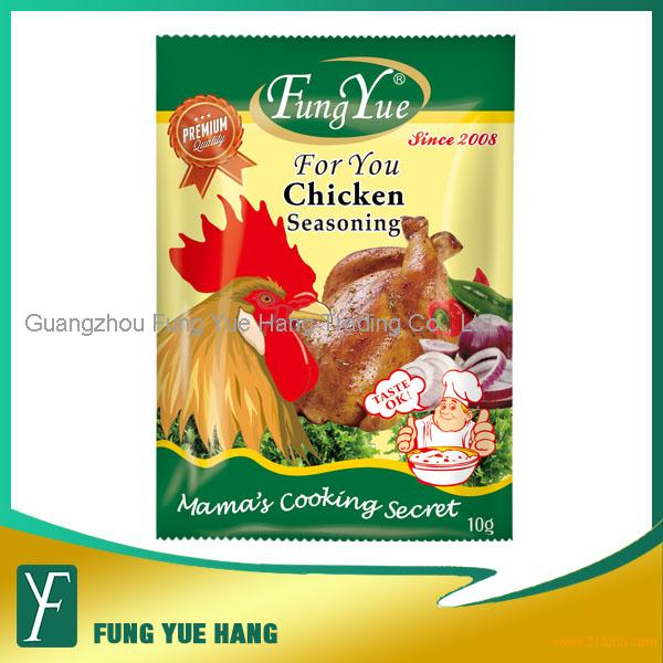 10g Halal Chicken Flavor Seasoning Powder