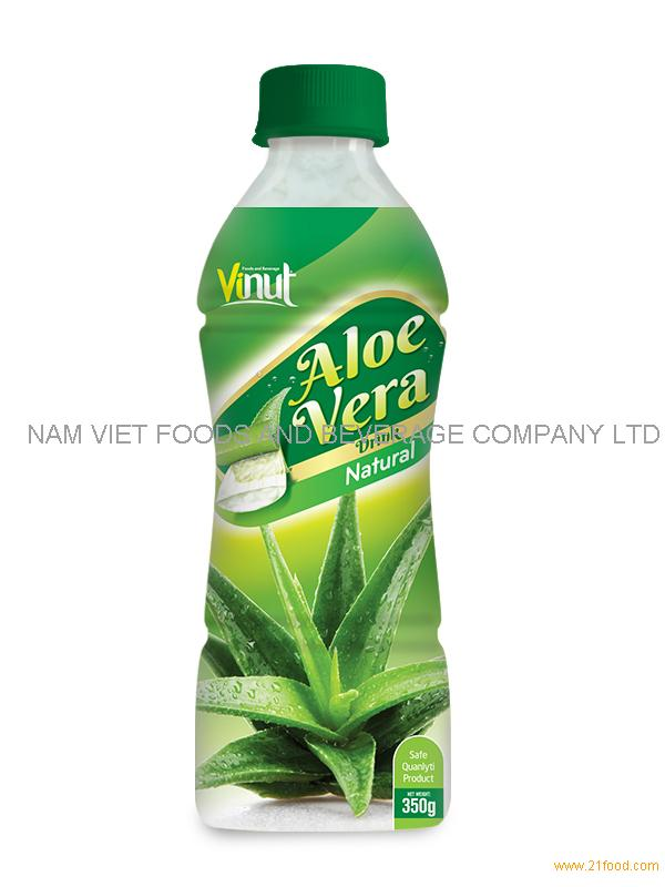 350ml natural aloe vera pet