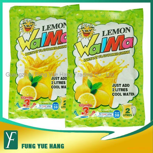 60g Lemon Flavor Instant Powder Juice Drink