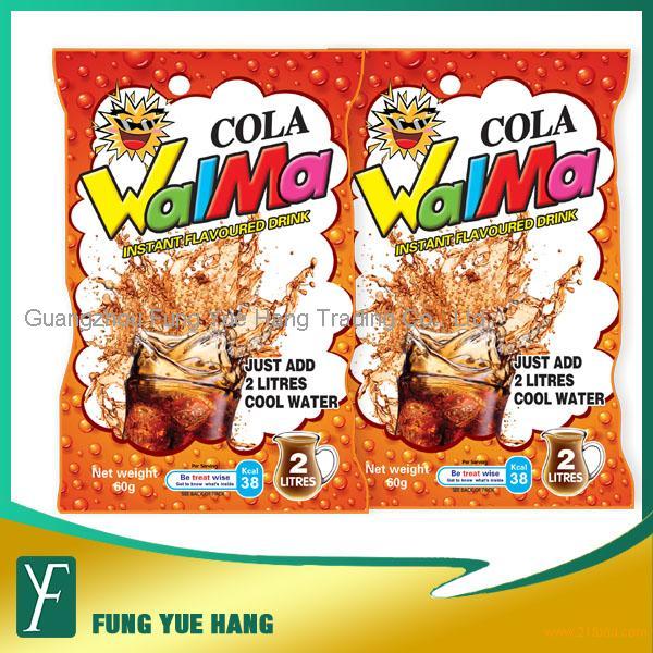 60g Cola Flavour Instant Juice Powder Drink
