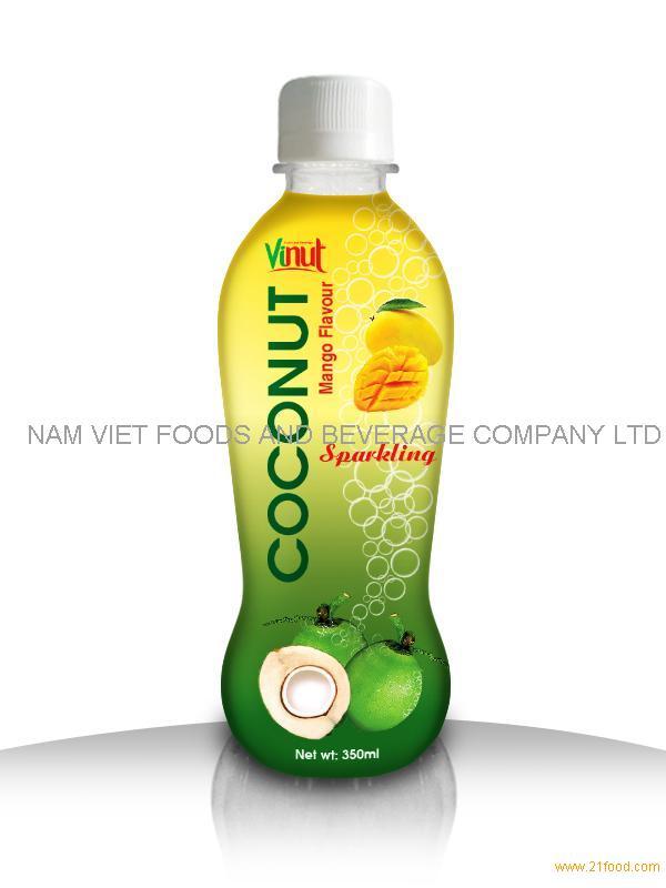 350ml Mango Sparkling Coconut