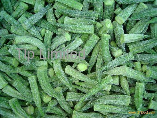Bulk Frozen Lady Fingers Vegetable, Frozen Okra