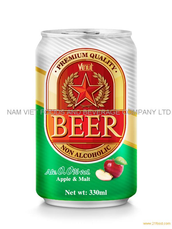 330ml Apple Non Alcoholic Beer