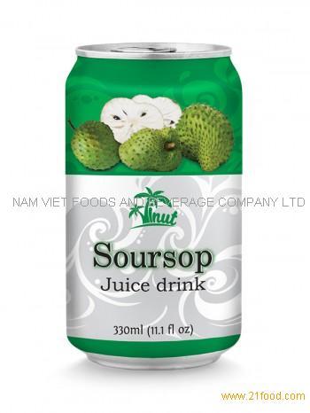 330ml Soursop Juice Drink