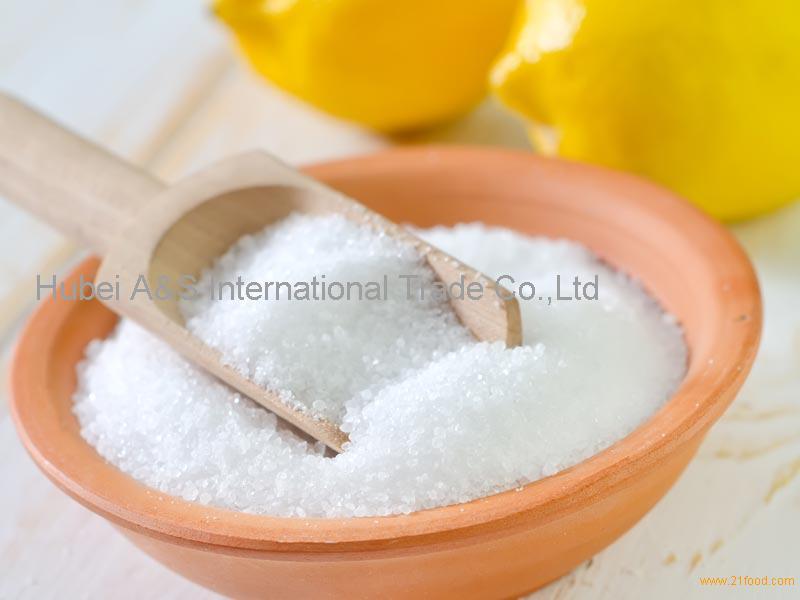 Food Grade Citric Acid Anhydrous Acidity Regulator